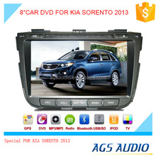 car radio dvd player with GPS tracker/touch screen for KIA SORENTO 2013