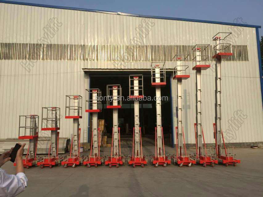 hydraulic telescopic ladder/man lift/electric lift ladder