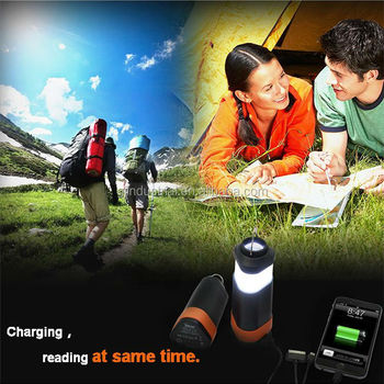 power banks retail with camping light