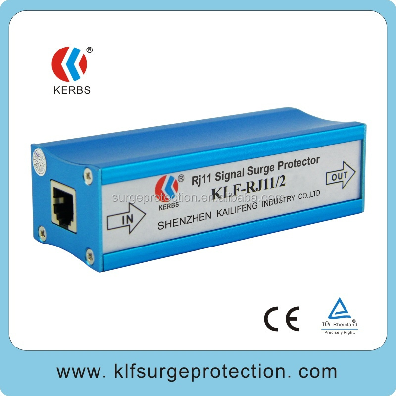 high quality RJ11 port telephone surge protector in cottage