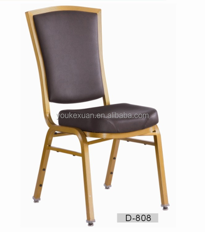 Youkexuan vinyl flex back banquet chairs D-808