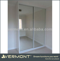 2 door wardrobe with mirror