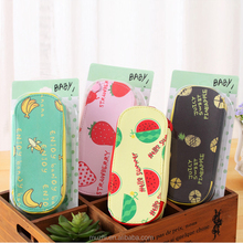 Muzhi Fashion Fruit Pattern Large Cool Pencil Boxes for Kids