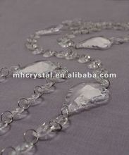 Christmas Crystal Garland With Maple Leaf Prism MH-12518