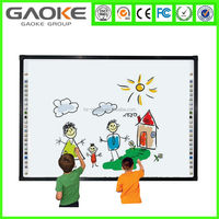 GK-880H portable interactive whiteboard iq board for digital classroom dual touching with interactive whiteboard system