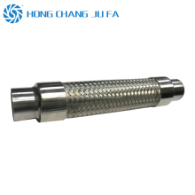25mm welding pipe fitting metal corrugated steel pipe flexible metal tube for steam