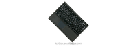 Bluetooth mini keyboard with a built-in Smart-Touchpad and two mouse buttons.