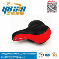popular cheap price kids bicycle parts/bike saddle Leather Electric Bicycle Saddle