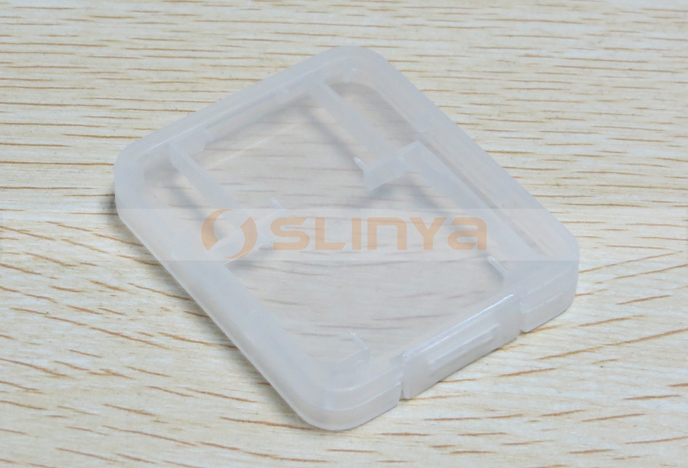 Plastic Memory Card Case for Mini SD Card Case and Mini SD Card Case Holder