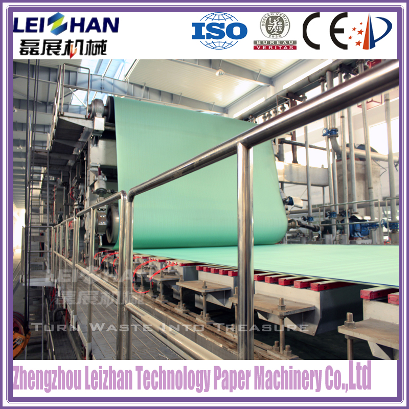 Corrugated paper type Vat machine for paper making