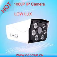 1080P with AWB, AGC, BLC IP Camera With Nice Night Vision Bullet IP Camera