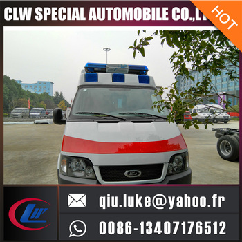 ambulance with lightbar for sale