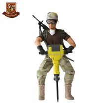 Customized nice product souvenir army vinyl action figure