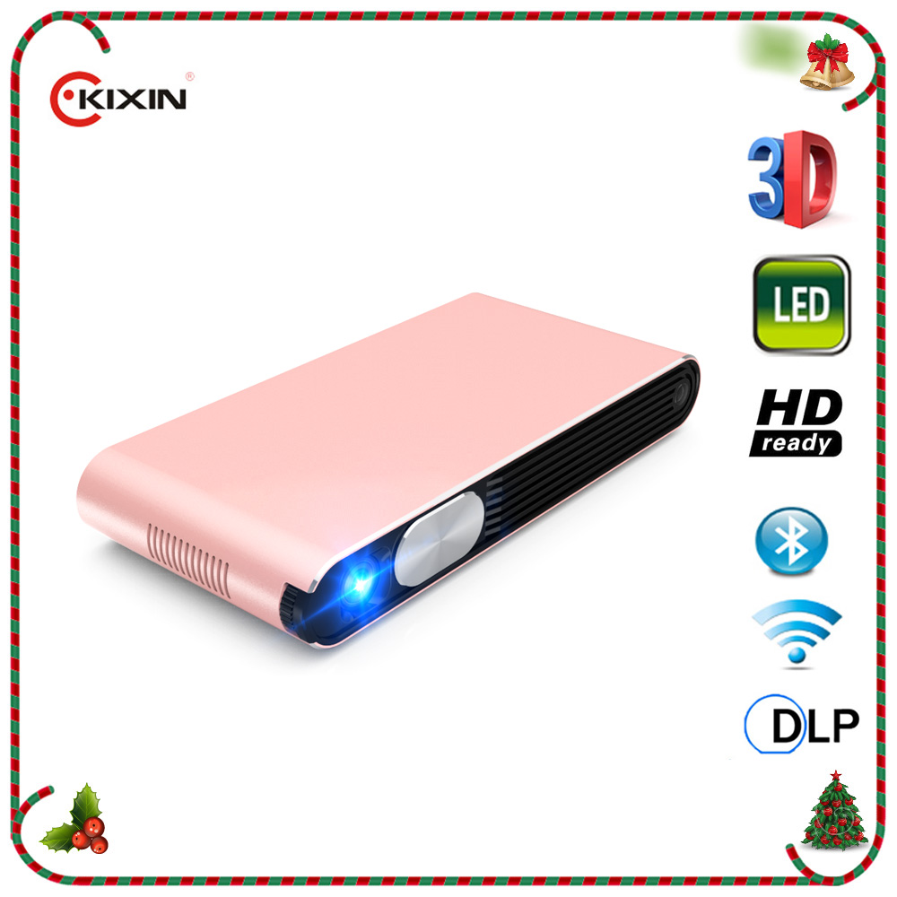 3D Home Cinema, WIFI, Full HD 1080P, HDMI, Bluetooth, Portable Smart Android LED Projector