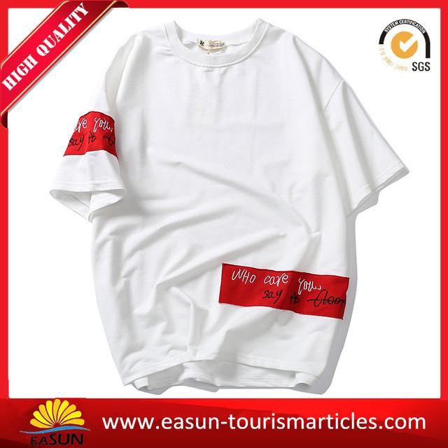 Beautiful stripe t-shirt soccer shirt fancy brand men t-shirt