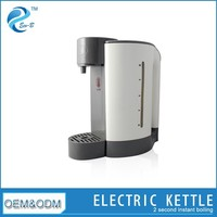 2L Plastic 2 Second High Heating Efficiency 2200W Electronic Instant Fast Electric Kettle