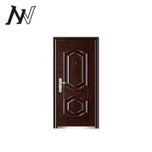 Excellent design reasonable price finished steel security single residential interior doors