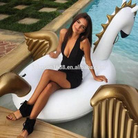 250CM Inflatable Pool Pegasus floats inflatable palm tree pool float In factory stock