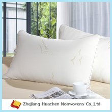 Zhejiang Huachen 100% PP nonwoven spunbond fabric china factory Airline headrests, pillow cases nonwoven