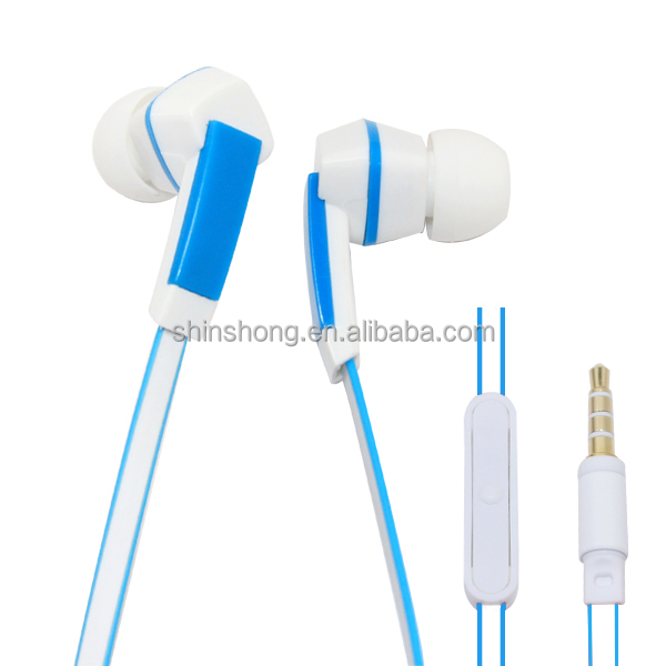 Hands Free Mp3/Mobile/Portable Music Devices Earbuds with Silicon Cover