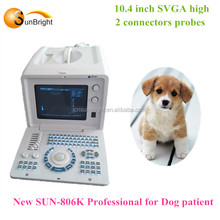 Portable Cheap Ultrasonic Diagnostic Veterinary Ultrasound Machine
