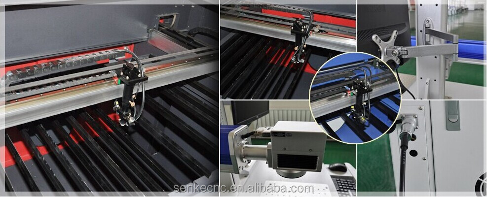 CNC laser engraving machine for cutting wood SKL-6090 for crystal gifts PCB leather marble wood Acrylic Sign and Number