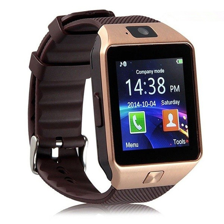Free Sample Wholesale Touch Screen Cheap sport gps dz09 smart watch mobile phone