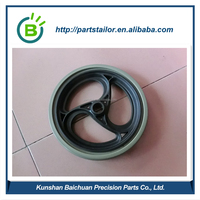 PVC wheelchair caster wheels BCR 0026