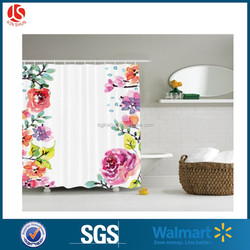 Peva Transparent Shower Curtains / latest Curtain Fashion Designs