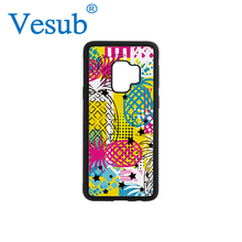 Vesub Mobile Phone 2D Sublimation Rubber Case for Samsung Galaxy S9