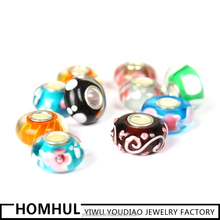 Yiwu Factory Direct Sale Murano Bead For Pandora Style Jewellry Making Wholesale