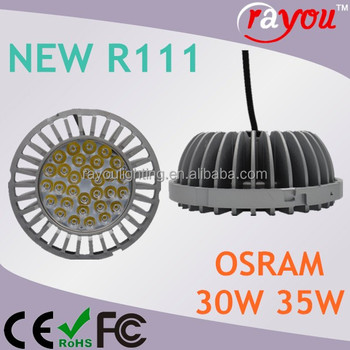 made in China soraa ar111, round shape ceiling light ar111, ar111 led grille ceiling light