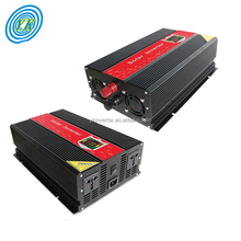 Solar power 3000w single phase 12v 220V inverter LED display 1000w 2000w 3000w
