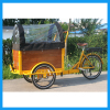 Solo Single-Wheel Trike Bicycle Cargo Bike Trailer