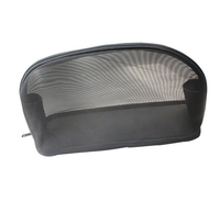 CT0250 2016 Hot Small Mesh Cosmetic Bag Black