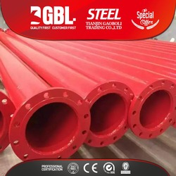 Alibaba China Manufacturer steel pipe weight per meter of fire hydrant pipe