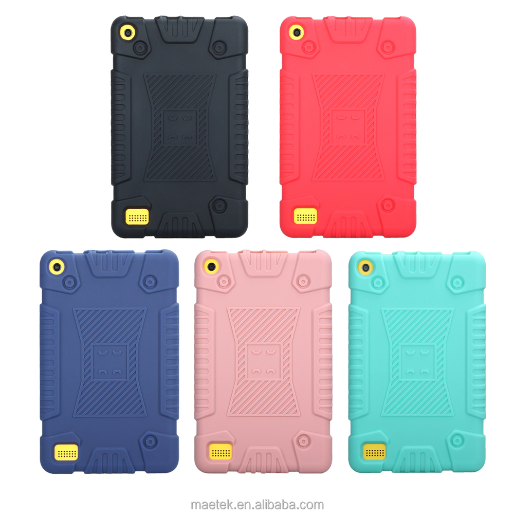Heavy Duty Armor Shockproof Soft Tablet Silicone Case For iPad Pro 9.7