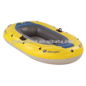 inflatable vinyl boat-two person