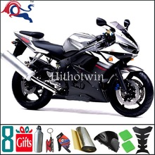 2003 2004 2005 YZFR6 For yamaha Silvery white black Fairing Bodywork Kit Fit For yamaha YZF R6 2003 2005 R6S 2006 2009 27