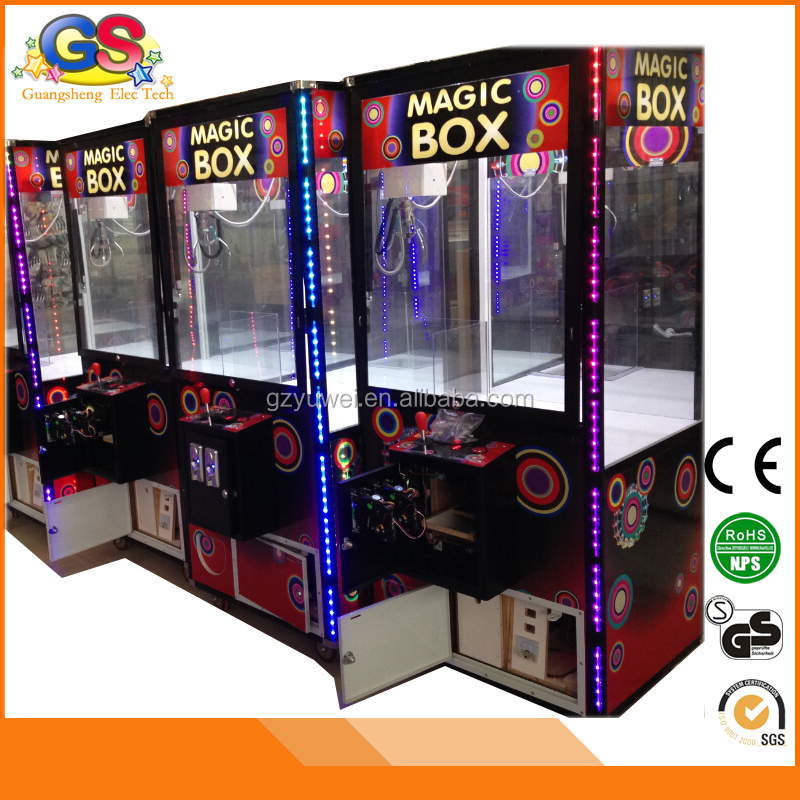 LED aluminum frame toy arcade crane claw machine for sale kit games machines for kids
