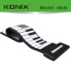 Electronic Roll Up Piano Keyboard 49 Keys Portable Roll Up Digital Piano Keyboard from China
