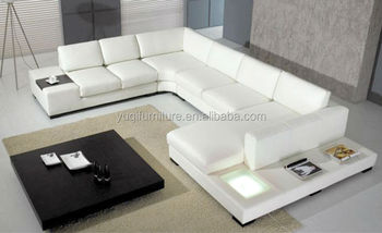Hot sale living room home furniture leather sofa 9110-1