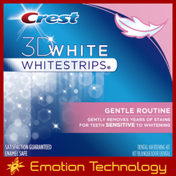 Crest 3D White Whitestrips Gentle Routine crest whitestrips