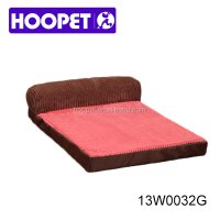 Luxury pet bed wholesale memory foam dog bed frame