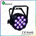 12x8w rgbw 4in1 led par can waterproof light