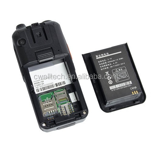 Wholesale ALPS F22 2.4 inch dual sim Zello Android Walkie Talkie PTT 3500mah big battery mobile phone