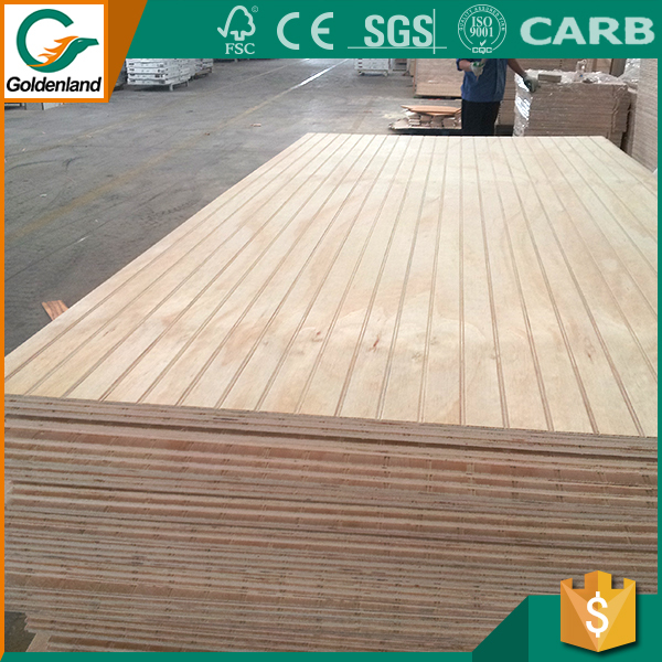 China popular groove 8mm plywood