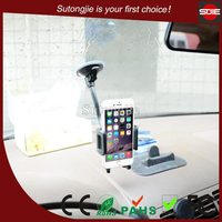 ABS funny flexible elastic lanyard cell phone holder for car windshield