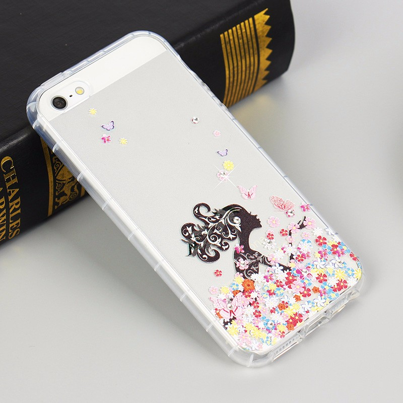 wholesale custom printed diamond cell phone case for iphone 6