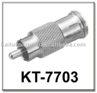 Reliable Quality (KT-7703) RCA Male To PAL Quick Female